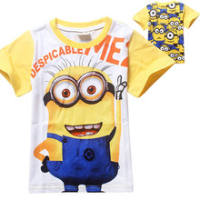 kids boys t-shirts brand names name brand hoodies for cheap Despicable Me t-shirt
