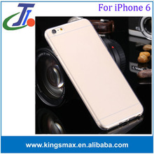 Mobile phone accessories best quality tpu case with screen protector for iphone 6 hot new products for 2015