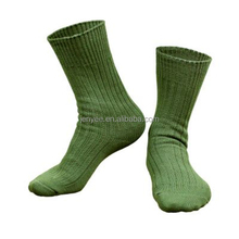 Custom thick terry cushioned military army socks