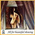 Hermosa mujer desnuda pintura al óleo de la lona, pintura al óleo del arte de la lona, sexy pintura al óleo pintura