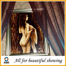 beautiful nude woman oil painting canvas, art oil painting canvas, sexy girl oil painting