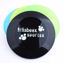Environmental protection plastic flying discs Pet dogs flying discs Medium size 22cm