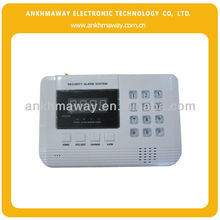 Dual Network PSTN and GSM Home Security System Wireless GSM alarm system