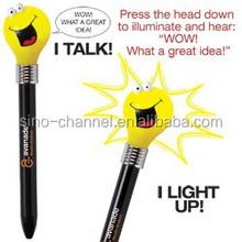 cute novelty light up pen