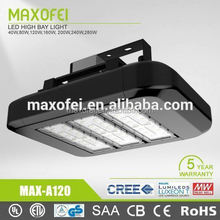 Modern design Meanwell 120w led high bay light with CE RoHS CB SAA UL DLC