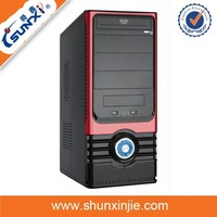 Prices desktop computers acrylic computer case with handle 1805