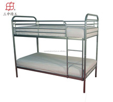 direct manufacturer high quality newly college dormitory metal bunk bed for sale