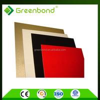 Greenbond 6mm pvdf aluminium composite panels