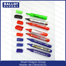 JYL Promotional Colored Washable Ink Textile Marker Pen for Painting