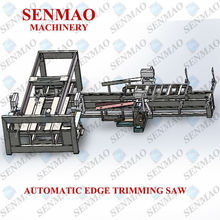 plywood edge trimming saw/table saw cutting machinery/veneer plywood cutting machine