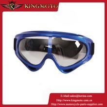 KINGMOTO 151031-15 GA-10056 PU pattern paint, 2 layer airy foam with fleece, black strap ski, snow, motorcycle goggles