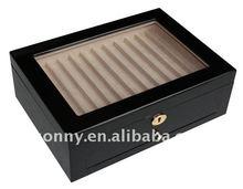 Deluxe Wooden Pen Storage Box