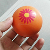 Multifunctional spiky rubber ball toys for kid with diameter of 63.5mm