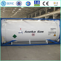 2015 40FT 20.8m3 T75 Tank Container for LOX LIN LAr LCO2 LNG LC2H4
