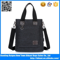 Hot sale fashion canvas messenger for men