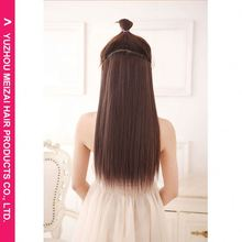New coming fashionable hair wholesale synthetic weave hair piece from China