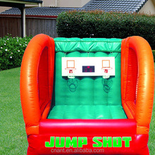 new designed jump shot basketball inflatable game from china