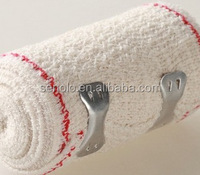 Elastic conforming 100% Cotton Crepe Bandage With CE FDA ISO certification