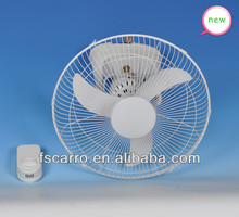 2014 newest solar dc orbit wall fan 360 degree wall fan
