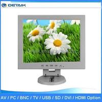 DTK-1208T Factory Price AV VGA TV Input 12 Inch TFT LCD TV Monitor