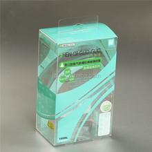 Custom PVC PET printed packaging box , plastic printing box , wholesale pvc print box