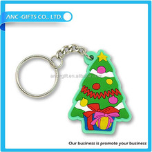 New Items Promotional gift 3d keychain fashion custom design rubber keychain