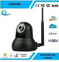 Wireless 1.3M 720p P2P ip smart cctv camera FCC ,CE,ROHS,Ceritification