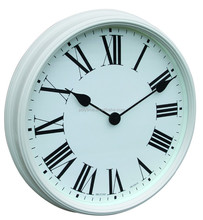 home decoration British style metal wall clock