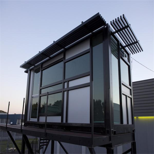 Family type prefabricated house steel structural prefab villa