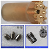 Oil Gas Drilling Use Blank, Ground Carbide Flushing Hole in Drill Bits