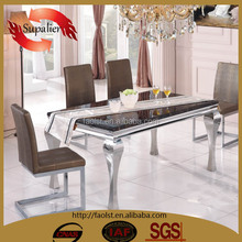 hot sales modern dining tables and chairs for kitchen room