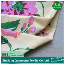 Popular seller polyester composition big flower fabric