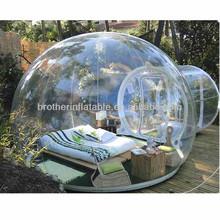 Evento inflável bolha tenda para venda