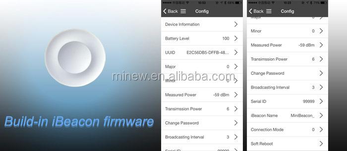 ibeacon firmware