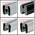 Perfiles de extrusión de aluminio para ventanas y puertas