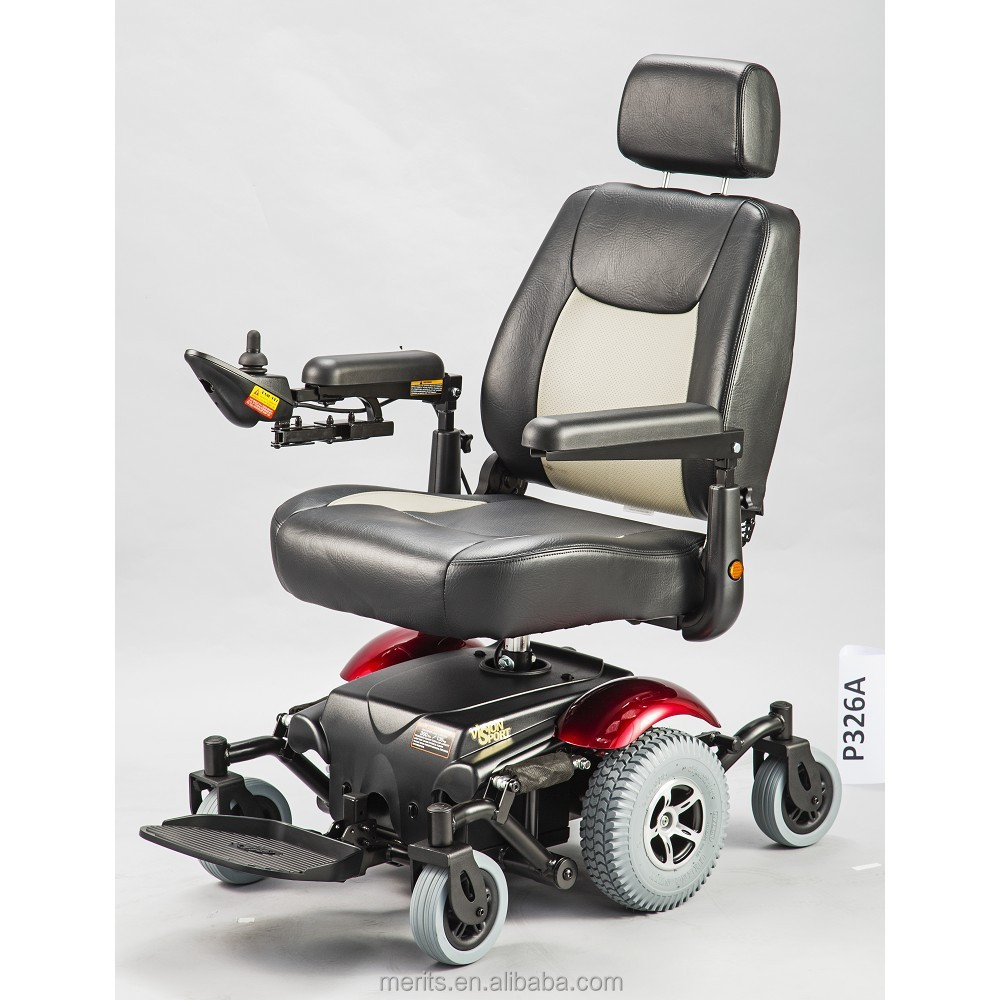P326a Professional Manufacturer Wheel Drive Competetive Price Electric Wheelchair View Electric