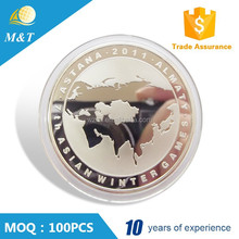 Factory direct suoply anniversary year singapore souvenir coin maker
