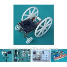 DIY Solar Car & Solar Fan Set, Educational toys solar car kits