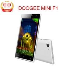 "4.5"" IPS Doogee Turbo Mini F1 Mobile Phone MTK6732 64 bit Quad Core 1GB+8GB Android 4.4 OTG 4G FDD LTE Doogee F1 Smartphone"