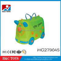 Children new small size trolley case kids travel suitcase kids green luggage HC279045