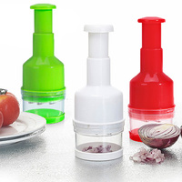 Kitchen Pressing Food Onion Garlic Vegetable Chopper Slicer Peeler Cutter Dicer