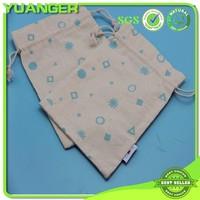 New Style Promotional Handled Bulk Organic Cotton Drawstring Bags