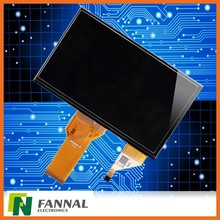 Glass +Glass TFT/LCD+TP 5 touch 7inch touch screen flexible display