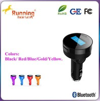 2015 Mini car charger gift for car owners bluetooth car mp3 player/car charger/fm transmitter
