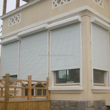 European style roll up hurricane aluminum rolling shutters drawing