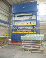 Color Stone Coated Steel Roof Tile Making Machine