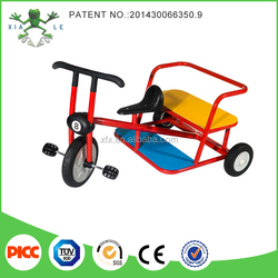 2015 New Style Three-Wheel Mini Children Trike with back seat for Kindergarten