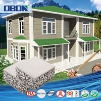 OBON low cost sandwich panel house prefab indonesia