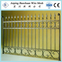 epoxy coat high durable steel fences for safety (20 years warranty)