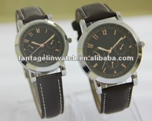 leather strap couple watches
